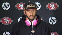 Motivation high for Jaguars game, says Kaepernick