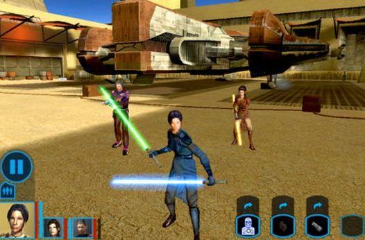 Star Wars: Knights of the Old Republic arrives on the iPad, and the Force is with it