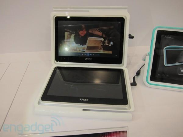 MSI Dual Pad concept eyes-on (video)