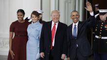 Trump contrató un doble de Obama para darse el gusto de despedirlo