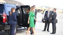 Melania Trump's green dress has a hidden political connection
