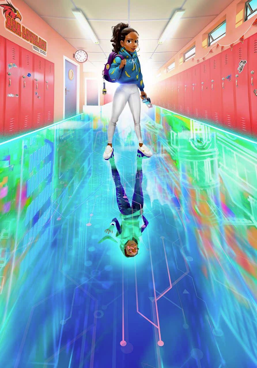 是高中生又是天才駭客的主角。(圖源:hollywoodreporter/Ubisoft)