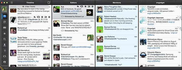 Tweetbot for Mac's latest alpha adds experimental 'snap-together' column layout