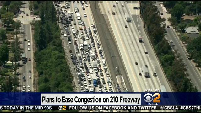 New Project Aims To Ease Congestion On 210 Freeway Through Pasadena