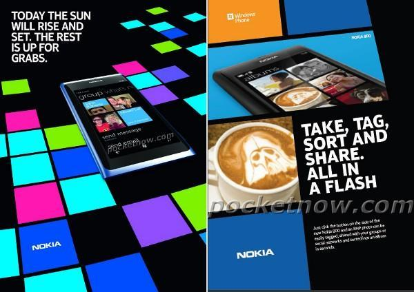 First Nokia 800 ads spotted, announcing the arrival WP7 for Finnish faithful
