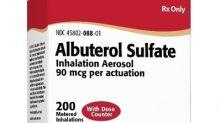 Perrigo and Catalent Announce FDA Approval of Perrigo's AB-rated Generic Version of ProAir® HFA