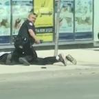 Toronto Police Seen Confronting, Arresting Man After Van Hits Pedestrians
