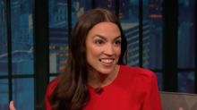 Alexandria Ocasio-Cortez Hits Fox News' Male Hosts With Question About Obsession