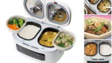 【有片】 日本熱傳「4合1電飯煲」 煮飯同時煮咖喱