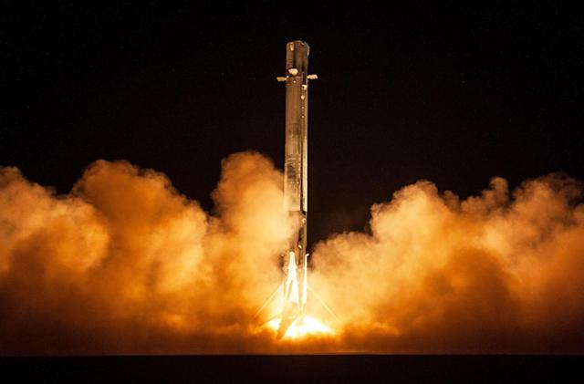 SpaceX says its rocket didn't malfunction during the Zuma launch