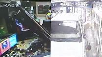 Smash-and-grabs using vehicles on the rise