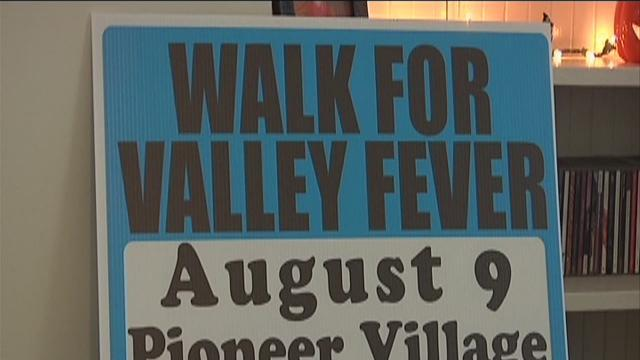Hundreds walk to raise awareness for valley fever
