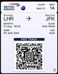 British Airways adds Passbook ticketing support