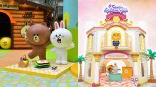 熊大、Ryan入侵香港商場!5米高Sally伴你郊遊 Ryan當酒店大亨
