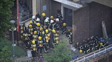 Emergency service workers suffering post-traumatic stress following terror attacks and Grenfell fire