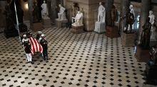 Ginsburg hace historia al recibir máximo honor póstumo en el Congreso