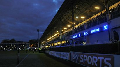 Rugby Union: Late power cut lends added drama to Leinster-Glasgow thriller