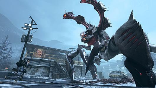 Nightfall brings an alien menace to Call of Duty: Ghosts