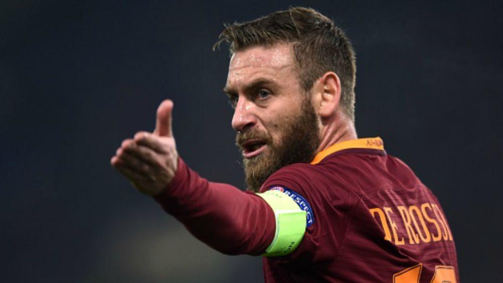 Probabili formazioni Pescara-Roma: De Rossi in dubbio, Perotti dal 1'