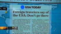 Headlines: U.S. customs lines deter foreign travelers