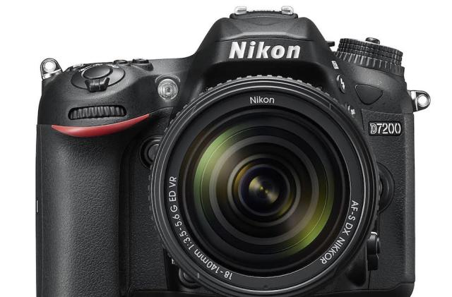 Nikon's latest lightweight DSLR is the D7200