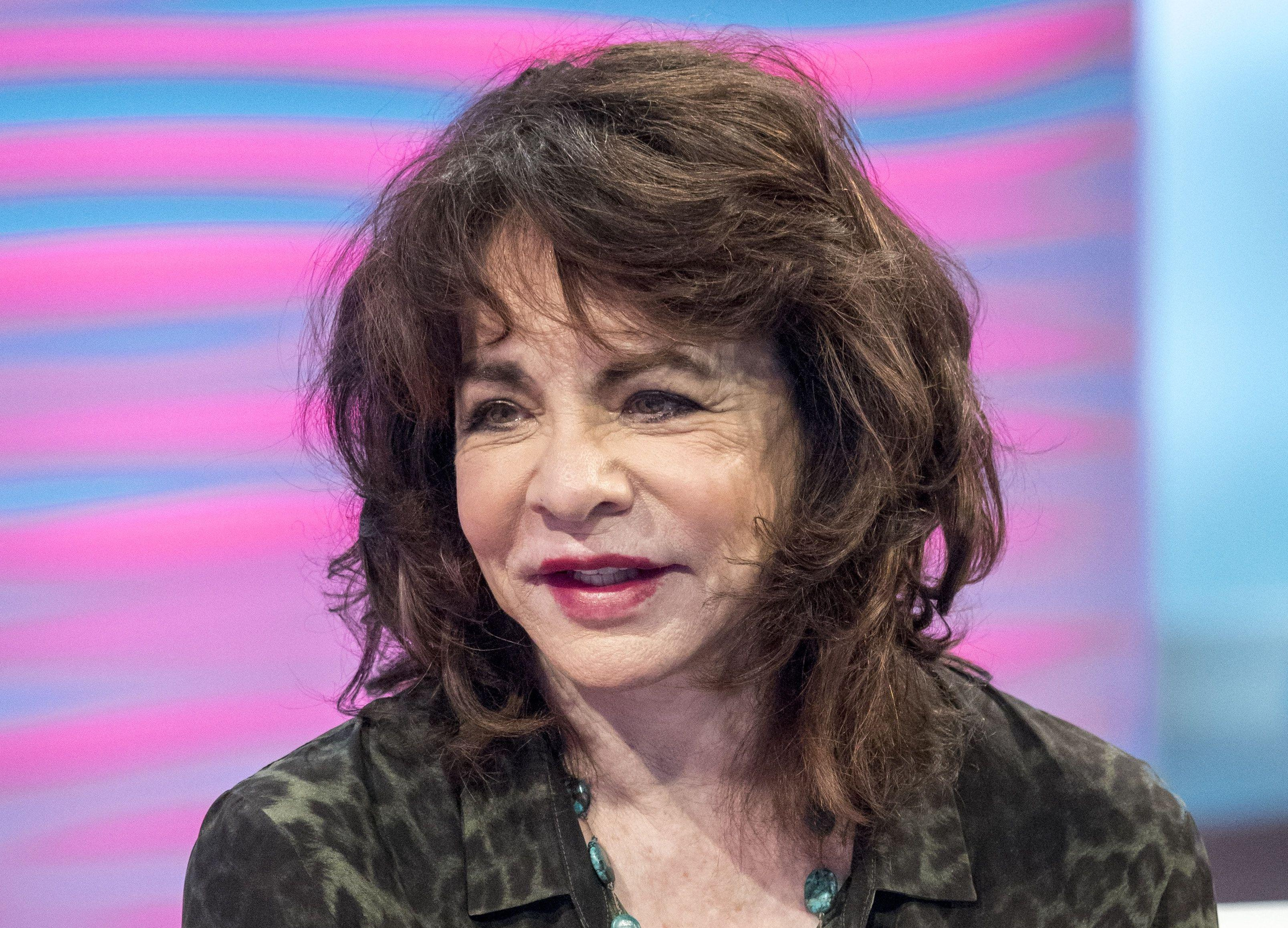 Stockard Channing appears on Lorraine show
