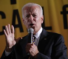 'It's a bunch of malarkey': Biden blasts Trump for stirring racial tensions