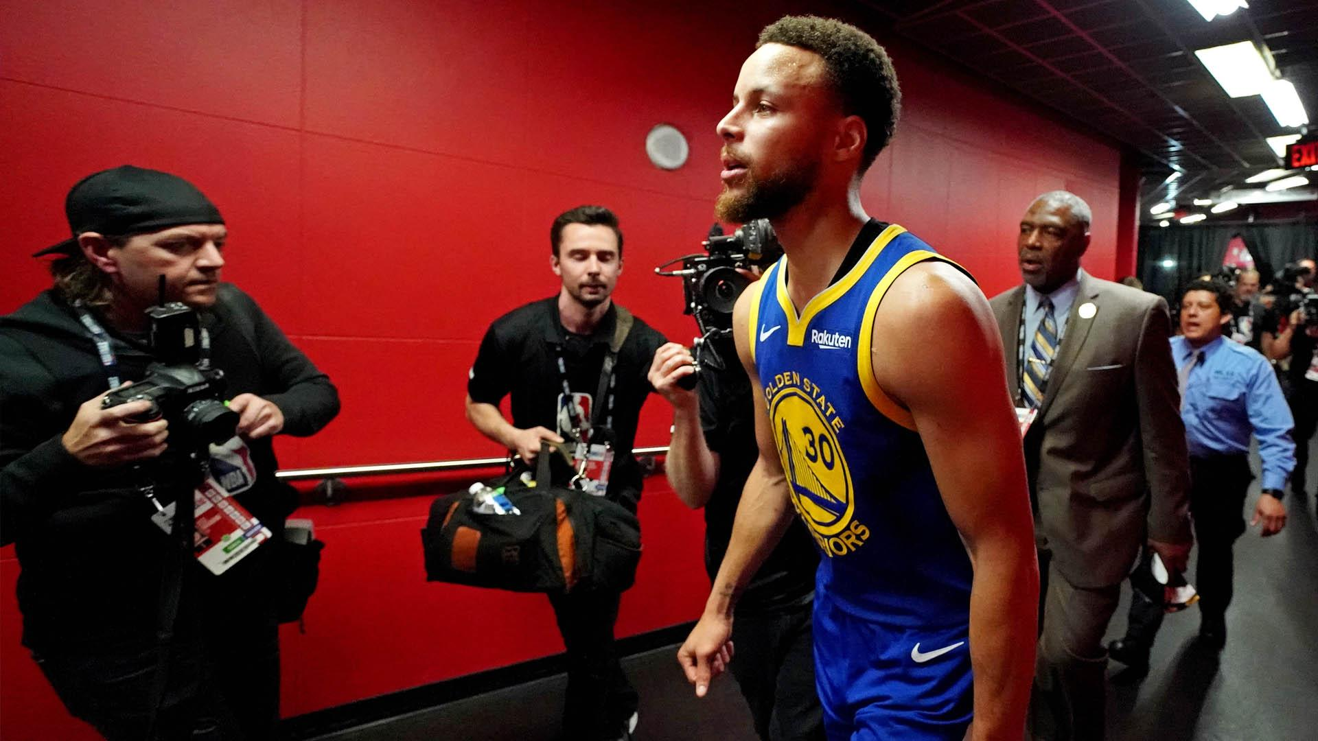 Steph Curry defended by Chris Broussard during epic NBA Finals rant