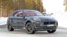 Porsche Macan spied, possibly a mule hiding a new platform