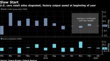 Consumers, Factories Send U.S. Economy Off to Tepid 2020 Start