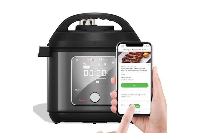 Instant Pot's new $170 Pro Plus is WiFi-connected and offers guided cooking