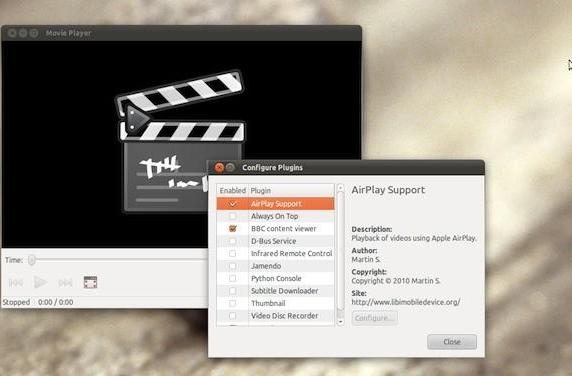 AirPlay video support comes to Linux courtesy of Totem media player plug-in