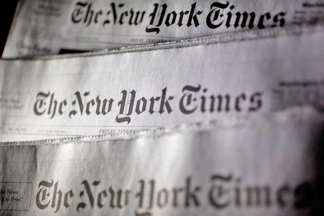 New York Times reporters' tweets will appear in its paper edition