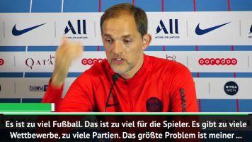 """Tuchel warnt: Spielplan """"zerstört die Spieler"""""""
