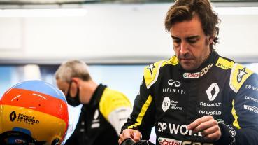 Alonso在單車事故後接受上頜骨矯正手術現正觀察中