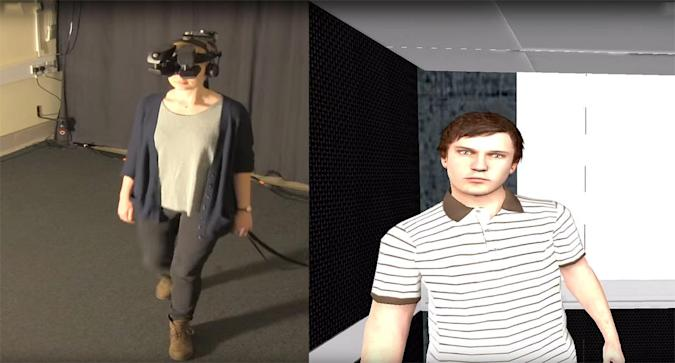 Virtual reality helps paranoia patients face their fears