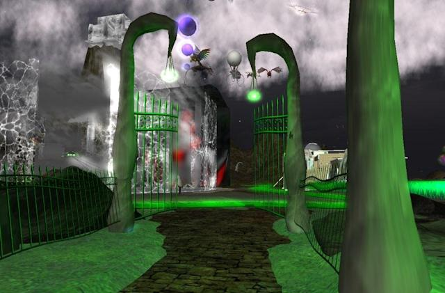 Second Life Places: The garden of Not Possible In RL delights