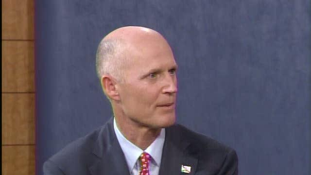 Gov Rick Scott tours TV stations with message of jobs