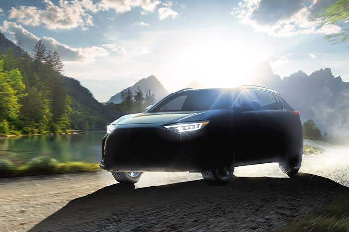 Subaru teases its first EV