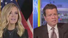 Fox News cuts off Trump spokeswoman after one minute