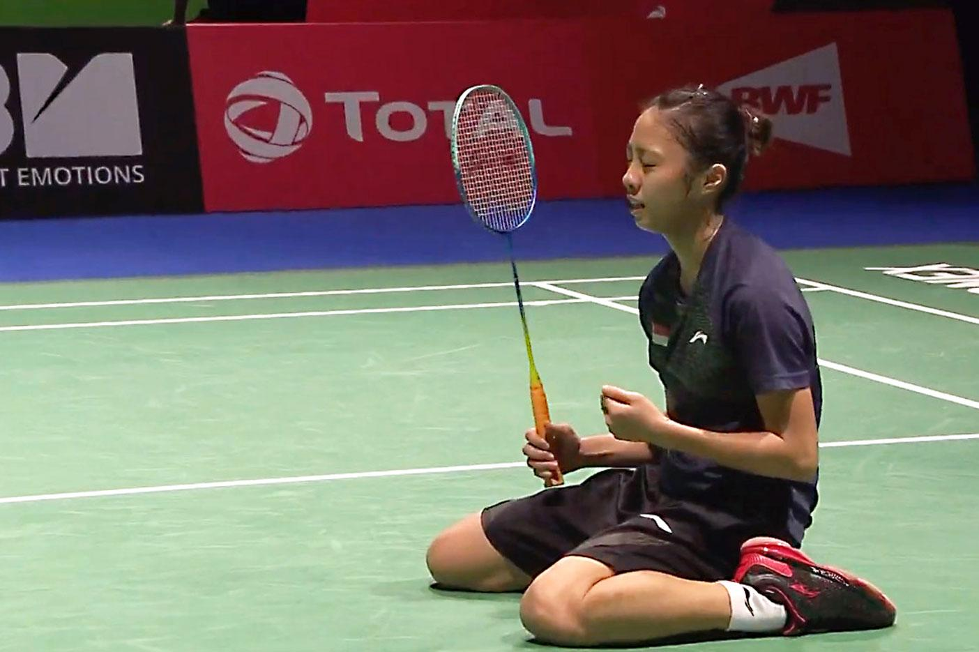 Badminton: Yeo Jia Min is first Singapore women's singles player to reach World Championships q-finals
