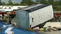 Michigan Breaking News: Driver: Bus Brakes Failed in Ind. Crash; 3 Dead