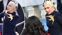 What Lady Gaga stopped to tell Michelle Obama at Biden's inauguration