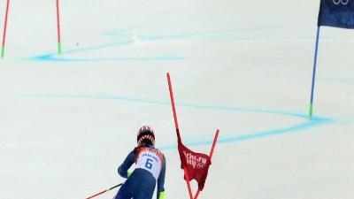 Mikaela Shiffrin Finishes Fifth in Olympic Debut
