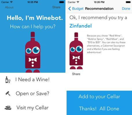 Daily App: Winebot is your personal assistant for wine