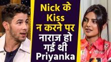 Why didn't Nick Jonas kiss Priyanka on the first date?