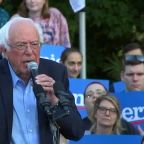 Bernie Sanders visits UNC-Chapel Hill for campaign rally