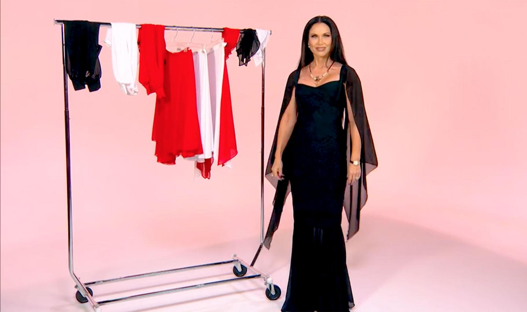 587c67fe020c2 Real Housewives of Dallas' LeeAnne Locken Made a Dress That Can Be Worn 175  Ways — Watch Her Model It