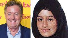 Piers Morgan says ISIS bride Shamima Begum should go 'f**k herself'