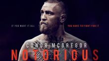 Conor McGregor announces 'Notorious' documentary film ahead of his fight with Floyd Mayweather
